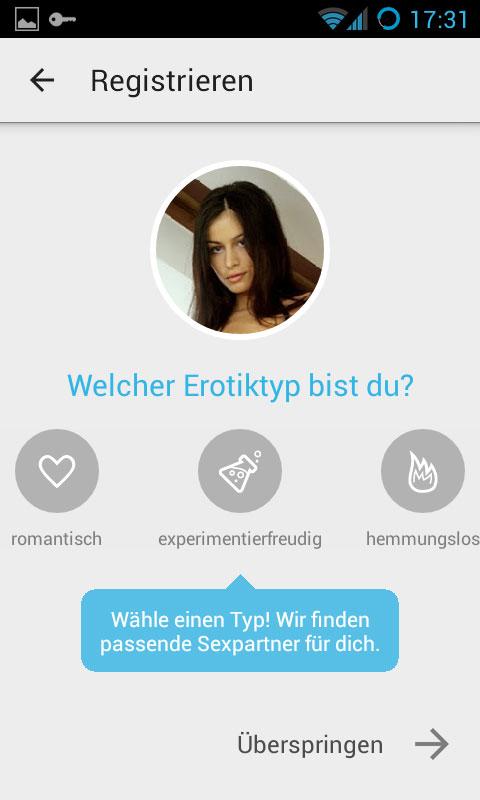 sex app kostenlos kurz & fündig